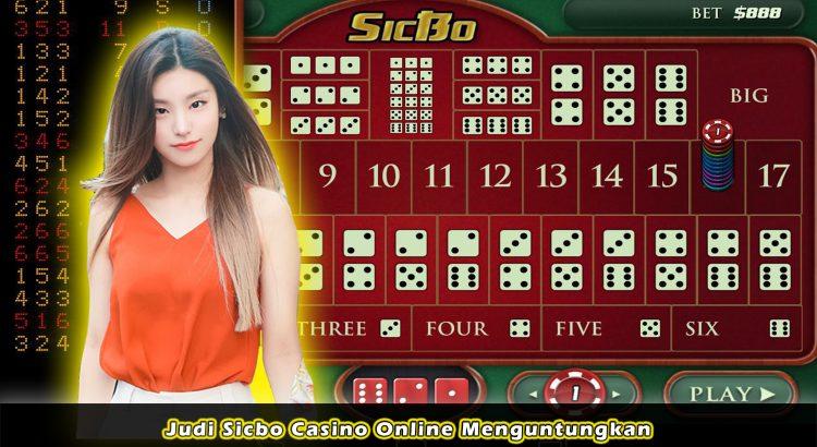 Judi Sicbo Casino Online Menguntungkan